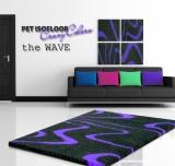 PET ISOFLOOR SX theWAVE Purple 100x75 cm
