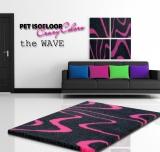 PET ISOFLOOR SX theWAVE Pink 150x100 cm