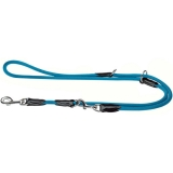 Verstellbare Führleine Freestyle 10/200, blau